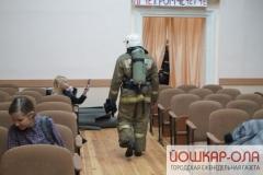 В Йошкар-Оле чуть не сгорел вуз и банк
