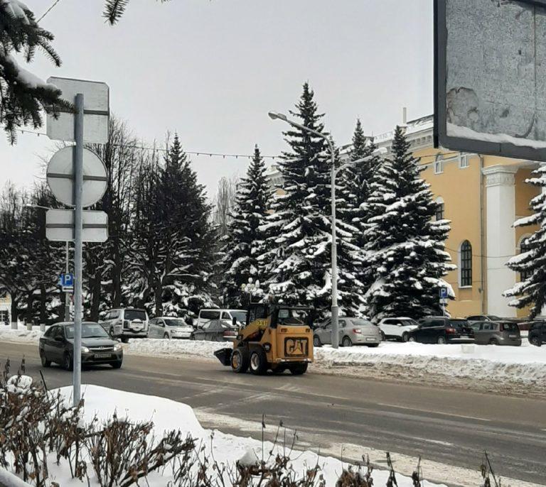 На снежную свалку Йошкар-Олы вывезено более 53 тысяч тонн снега