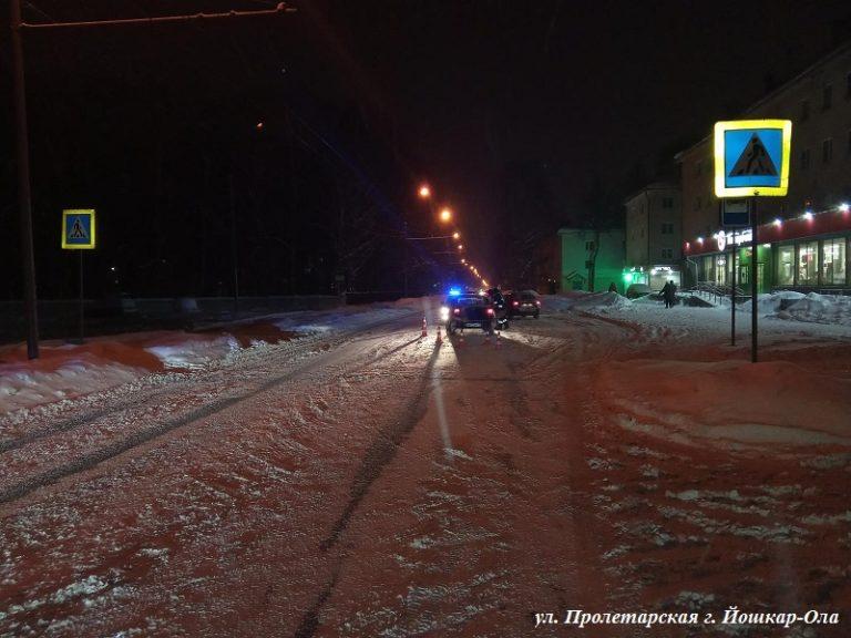 В Йошкар-Оле «Лада Гранта» сбила 35-летнюю женщину