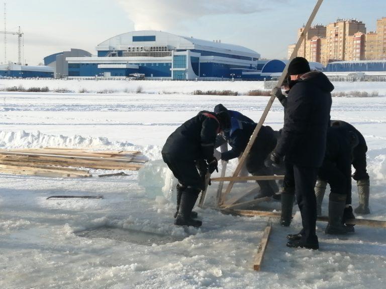В Йошкар-Оле оборудуют место для Крещенских купаний (ВИДЕО)