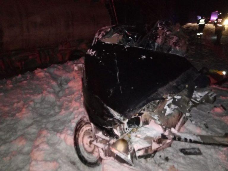 В Марий Эл в аварии погиб водитель
