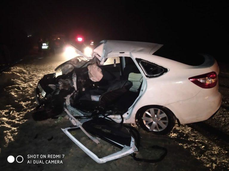 В Марий Эл водитель «Лады» стал жертвой лобового столкновения с грузовиком Shacman