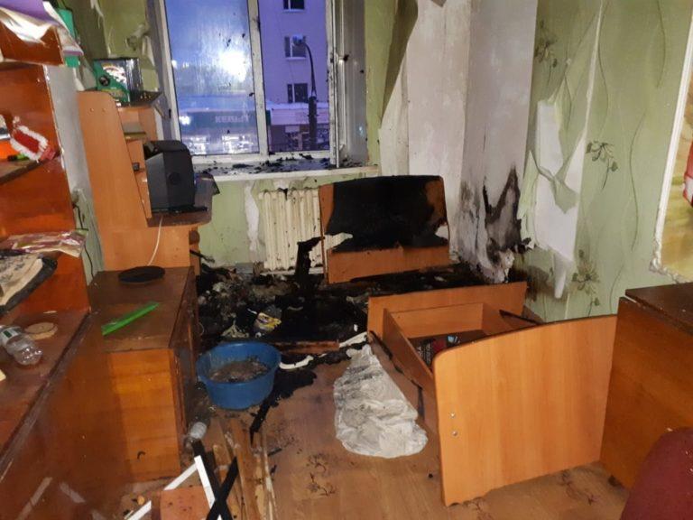 В Йошкар-Оле мужчина, куривший в постели, попал в больницу