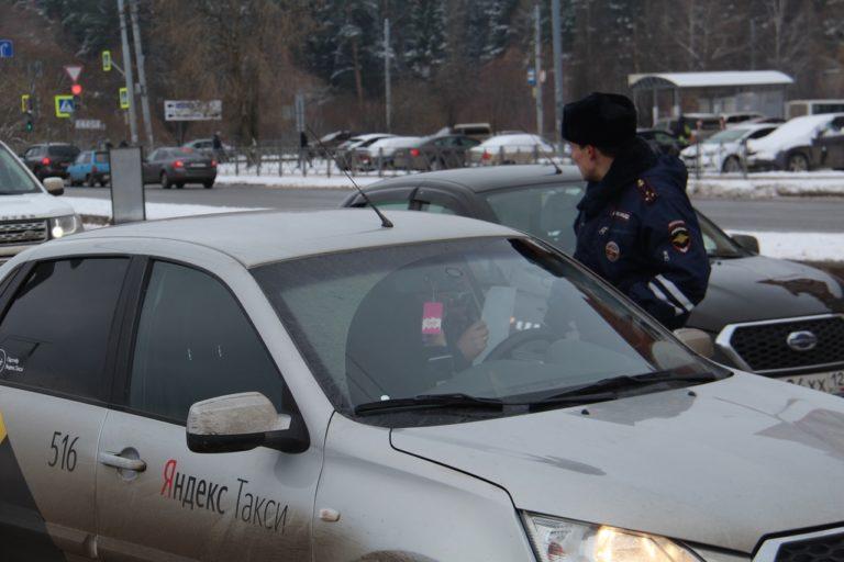 В Марий Эл за второй день операции «Такси» госавтоинспекторы выявили 47 нарушений