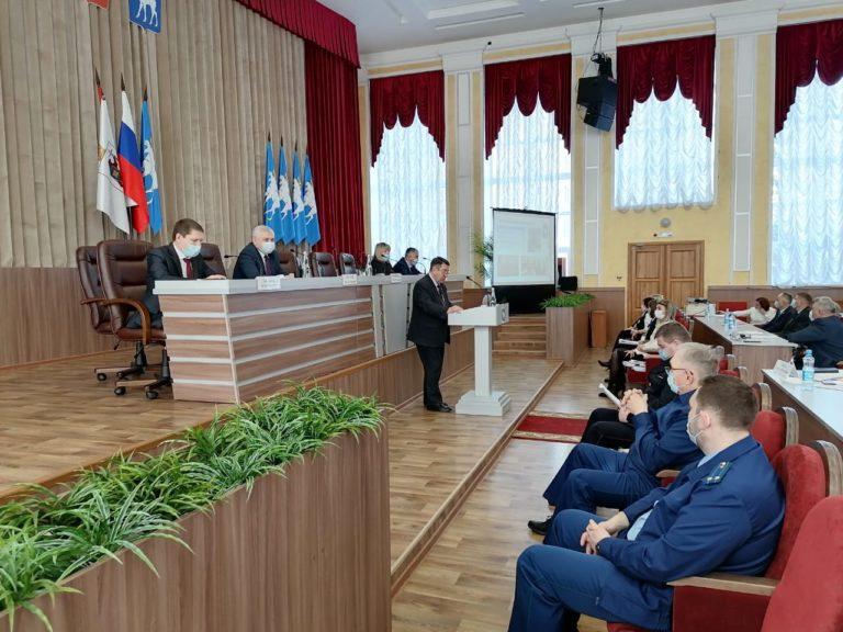 В Йошкар-Оле проходит XVI сессия Собрания депутатов городского округа