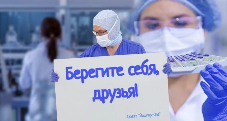 В Йошкар-Оле за сутки выявлены 6 новых больных коронавирусом