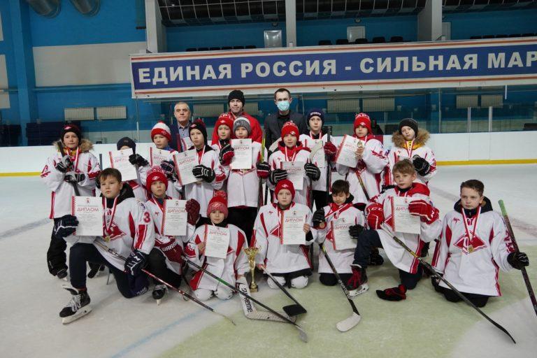 «Спартак» из Йошкар-Олы сыграет в финале всероссийского хоккейного турнира «Золотая шайба»