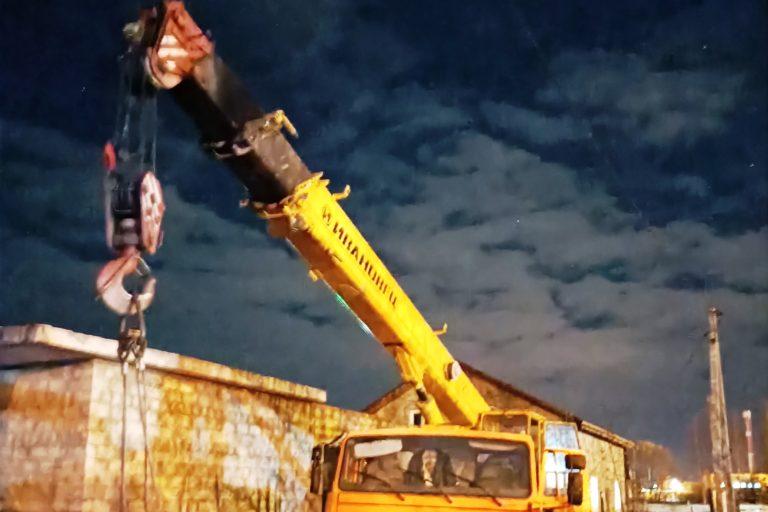 СУ СК РФ по Марий Эл: сорвавшаяся с автокрана бетонная плита убила хозяина участка в Йошкар-Оле