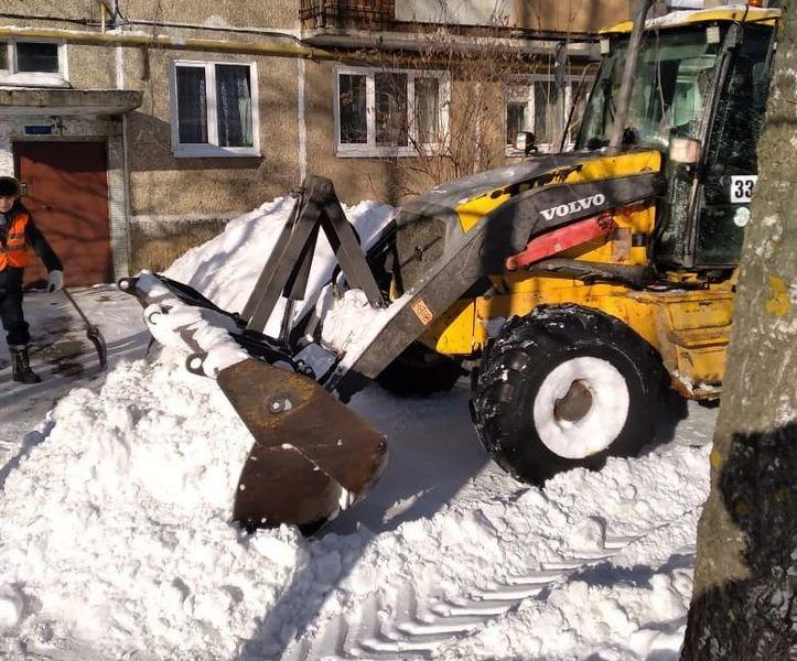 С дорог и тротуаров Йошкар-Олы за 3 дня вывезли 7 680 кубометров снега
