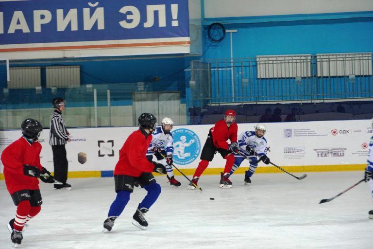 Юные хоккеисты Марий Эл разыграли трофеи турнира