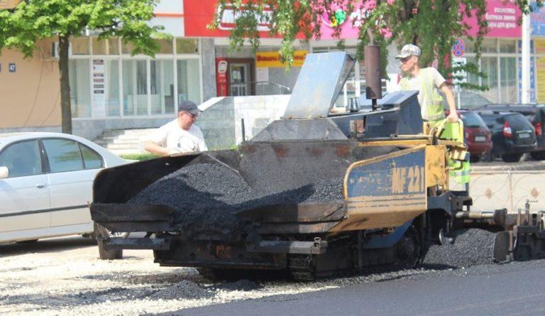 Новый асфальт уложен на Ленинском проспекте в Йошкар-Оле