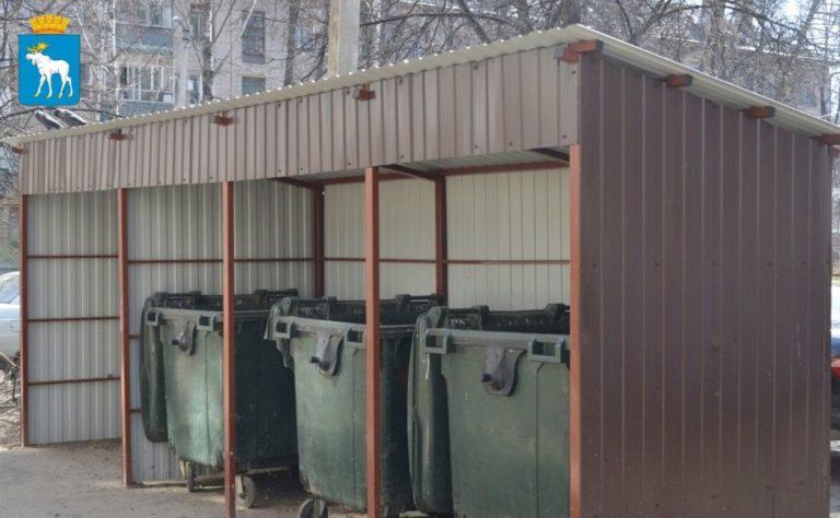 В Йошкар-Оле до 31 августа обустроят 12 новых контейнерных площадок