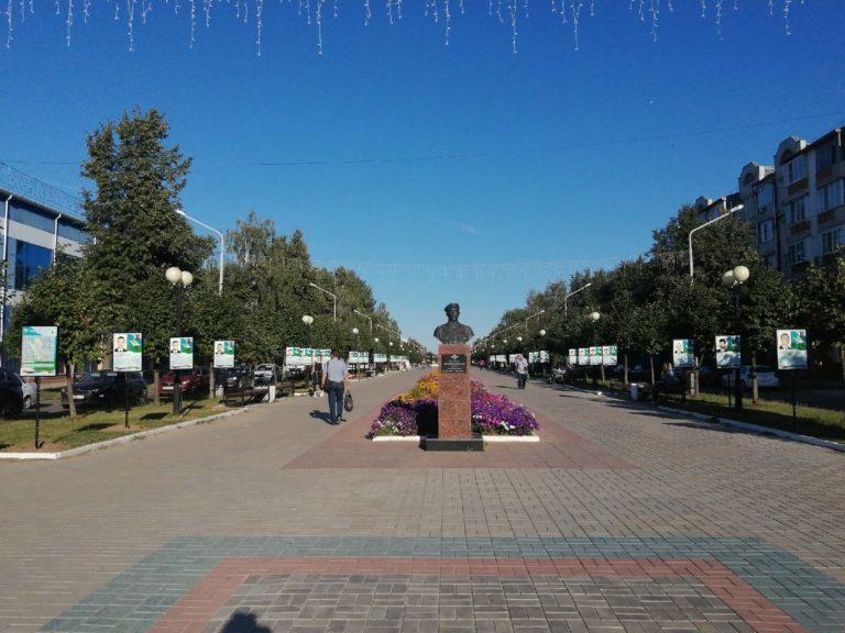 В Йошкар-Оле на бульваре Победы появилась Аллея Памяти бойцов 6-ой роты