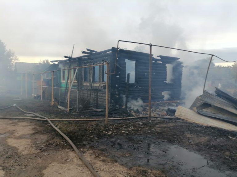 В Марий Эл 20 сентября произошел крупный пожар