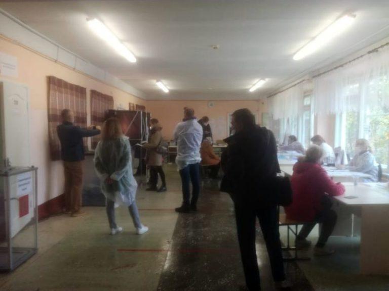 В Йошкар-Оле в 3-й день голосования избиратели заметно активизировались