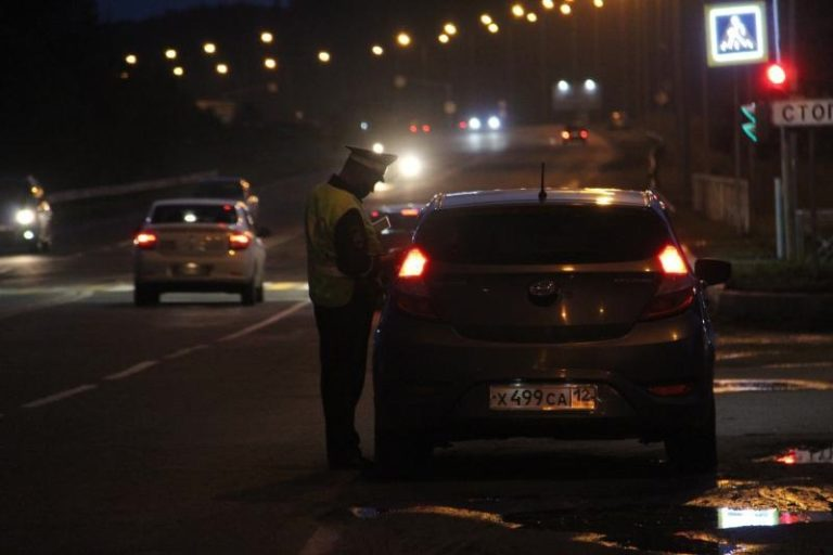 В Марий Эл с 24 по 26 сентября сотрудники ДПС ловят нетрезвых водителей