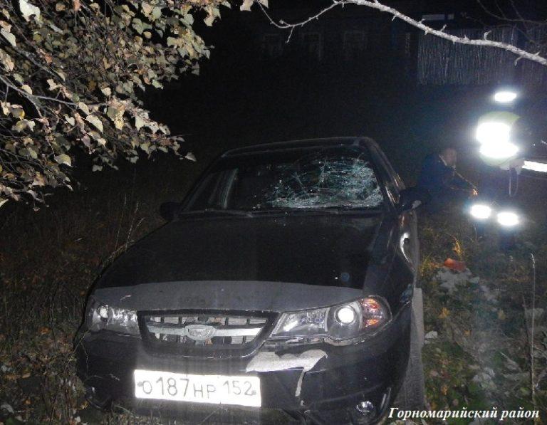 В Марий Эл водитель без прав сбил 61-летнего пешехода и скрылся