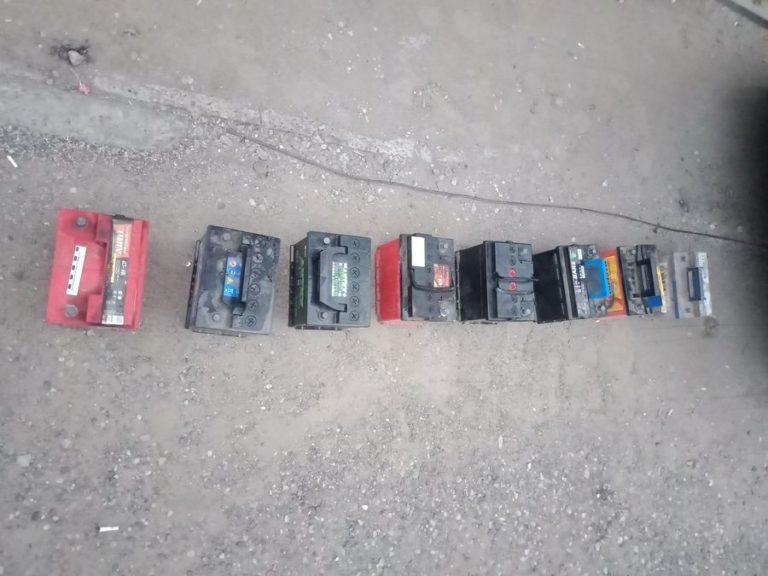 В Марий Эл похитители аккумуляторов передвигались на угнанной машине