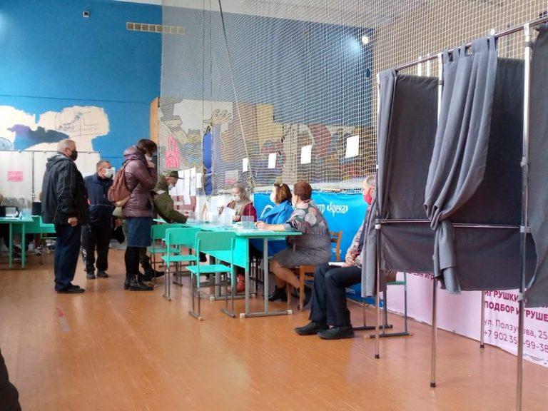 В Марий Эл к концу первого дня голосования явка избирателей превысила 16%