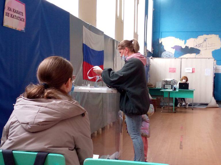 В Марий Эл по состоянию на вечер второго дня голосования явка избирателей составила 27%