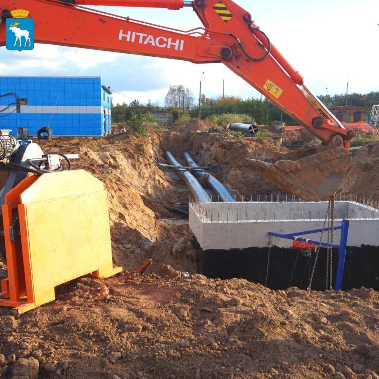 В Йошкар-Оле на МУП «Водоканал» продолжается строительство и реконструкция очистных сооружений