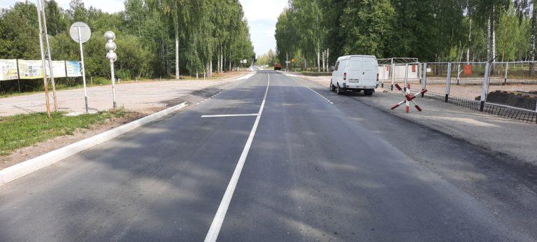 В Марий Эл введены два участка автодороги, соединяющих Йошкар-Олу и несколько населенных пунктов