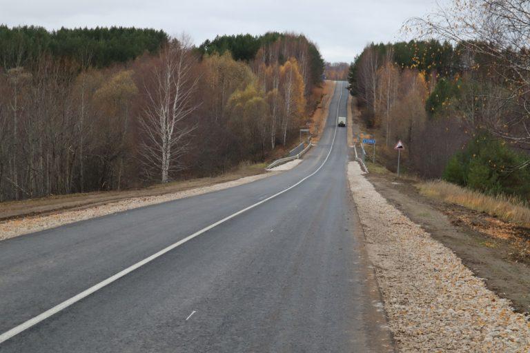 В Марий Эл в 2021 году в Горномарийском районе отремонтировали 40 км дорог