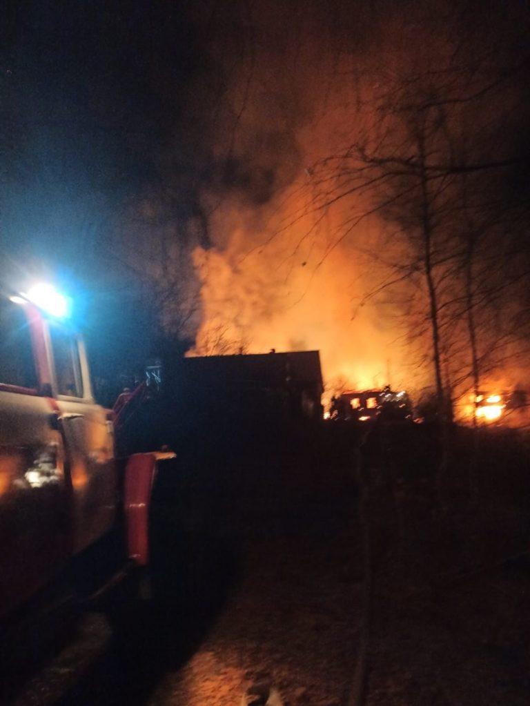 В Марий Эл 19 октября произошло два пожара из-за непотушенной сигареты
