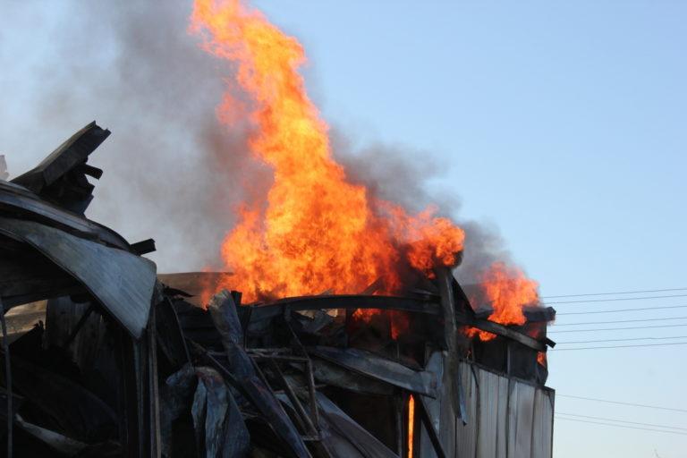 В Марий Эл в Медведевском районе 16 октября произошло 2 пожара